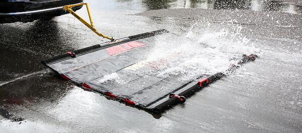 Aviation FODBOSS in the wet