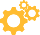 Gear Icon - Yellow