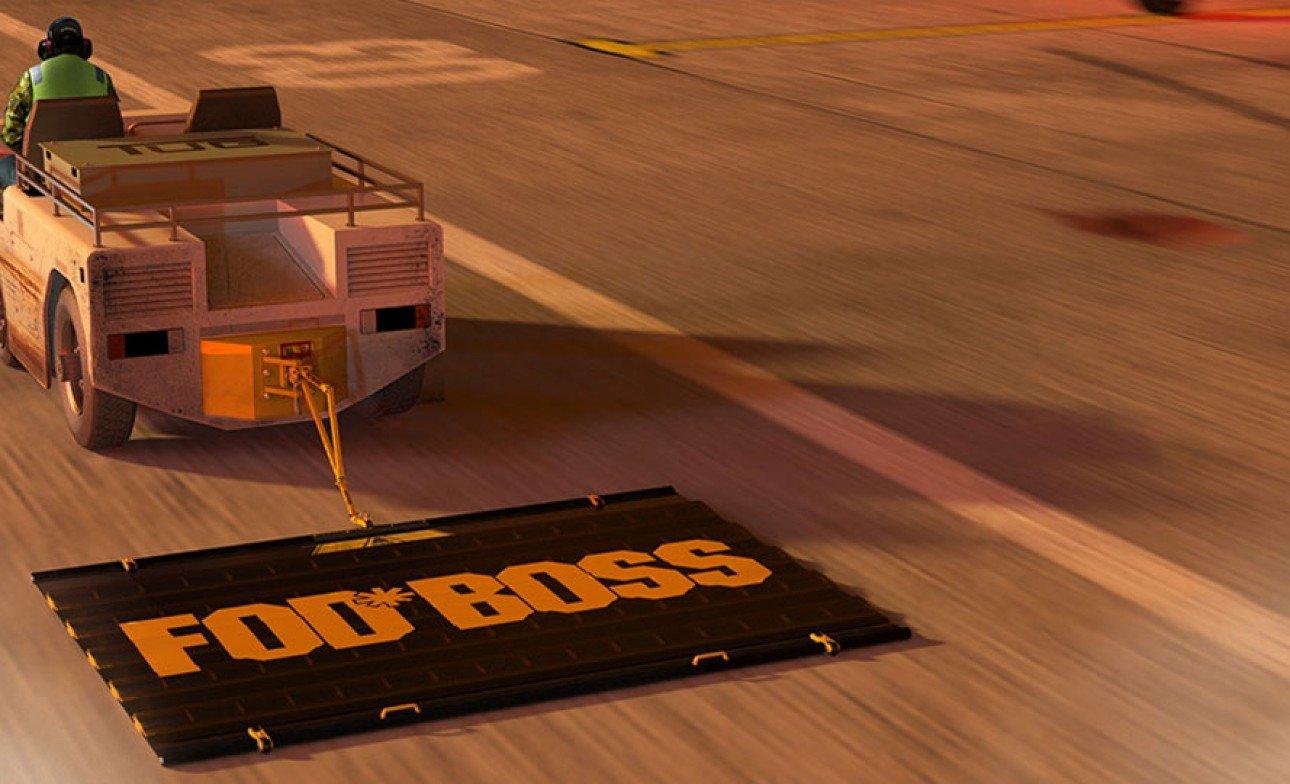 Fod Boss Runway Sweeper