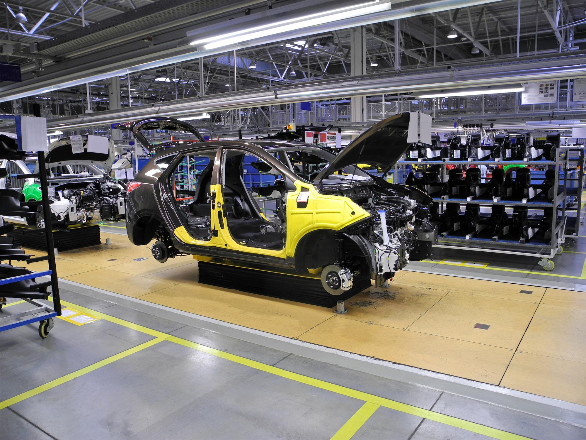 cars in production
